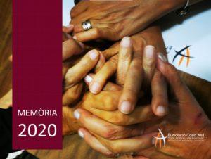 Memòria 2020- Fundació Casa Asil